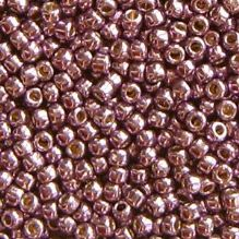 Toho 11/0 Seed Beads Permanent Finish Galvanised Pale Lilac PF579 - 10 grams